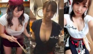 最近日本网上疯传巨乳拉麵图集 呼吁去日本的朋友一定要试
