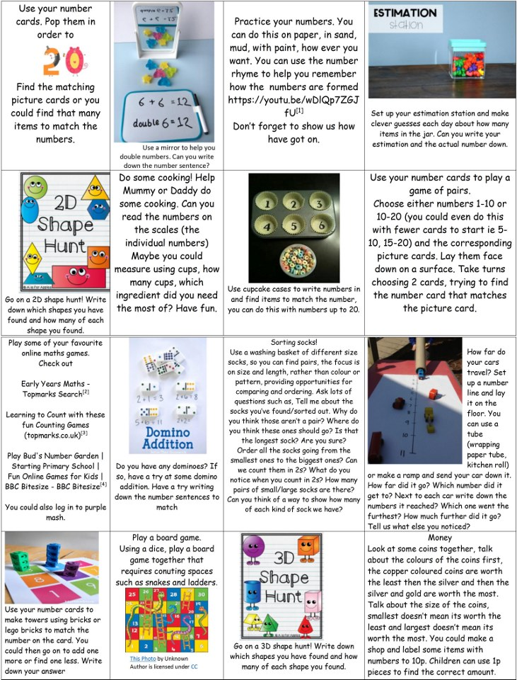 Counting to 20 back in EYFS early learning goals See the source image See the source image See the source image Image result for EYFS Maths Activity cypcake counting A picture containing text  Description automatically generated See the source image See the source image  (Moderate)